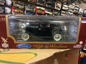 1932 ford 3 window coupe  1/18 scale diecast