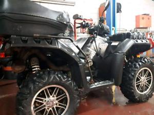 4 roues polarisé sportsman 2013 850ho éd.special