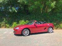 2011 11 MG TF 1.8 135 FIREFOX RED FULL BLACK LEATHER ONLY 50000 MILES FSH