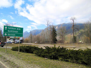 Sicamous - 1.9 Acre High Profile Development Property