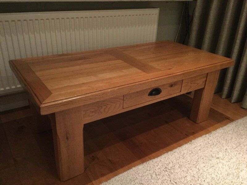 Carnac Couture French Oak Coffee Table