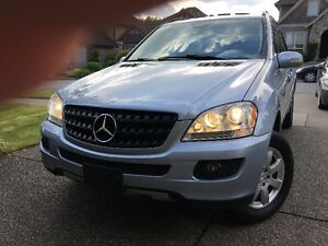 2006 MERCEDES BENZ ML350 AWD- REDUCED - $8950 (ABBOTSFORD)