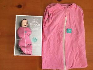 ErgoPouch Cocoon, 3-12 months, pink