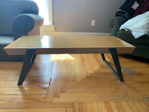 Crate and Barrel coffee table