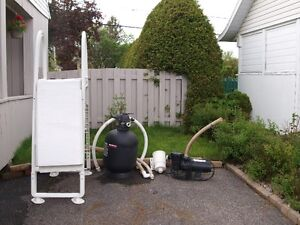 Filtre Jacuzzi laser 192 - pompe - échelle de piscine extérieure