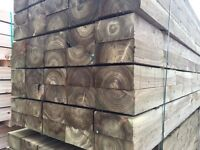 🌲New Pressure Treated High Quality Sleepers * Wooden