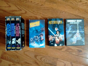 Classic Star Wars films + Bonus Blue Harvest (Family Guy) DVD