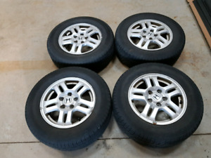 "15"" Honda CRV Rims and Tires 5x114.3"