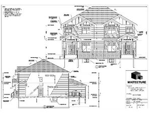 Architectural drafting services in edmonton kijiji for Architectural plans and permits