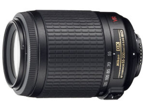 Nikon 55-200mm f/4-5.6G ED IF AF-S DX VR [Vibration Reduction] N