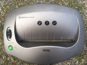 Royal Heavy Duty Paper Shredder
