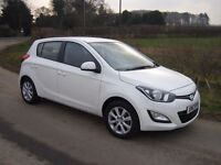2013 HYUNDAI i20 1.1 DIESEL CRDI 6 SPEED ONE OWNER FULL SERVICE HISTORY