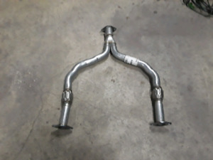 Y-pipe and test pipes 2005 Infiniti G35X