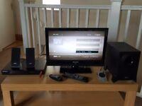 19inch TV, DVD, Sound System