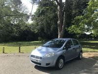 2007 Fiat Grande Punto 1.2 Active 5 Door Hatchback Blue