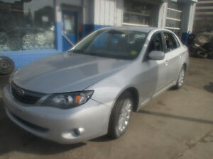 2008 SUBARU IMPREZA ALL WHEEL DRIVE 4 CYLINDER WARRANTY 1 YEAR