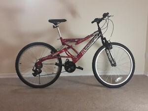 "Excellent 26"" X-Games Attack  dual shock mountain bike"