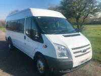 Ford Transit 2.2Tdci 135ps T430 RWD 17 Seater Minibus, 1 Owner