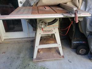 Ridgid table saw buy or sell tools in ontario kijiji for 12 inch ridgid table saw