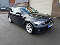2007 57 BMW 1 SERIES 118i 2.0 3 DOOR PETROL SE