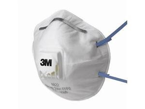 3M 8822 - Comfort Valved Dust Mask Respirator FFP2 - Box of 10