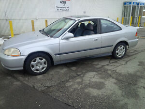 1998 Honda Civic si Coupe (2 door) very clean emission tested