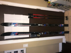 Rossignol Skis, Salomon Bindings and Kerma Poles