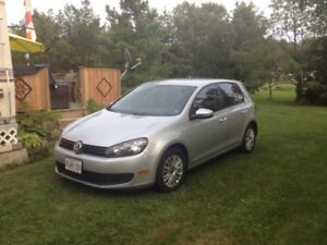 2012 VW  great on gas