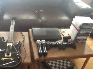 PS3 slim Great shape 17 games