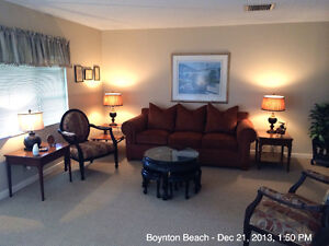 Home in Boynton Beach, Florida avail DEC 2016 & JAN 2017