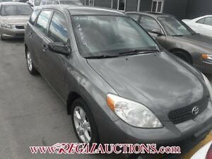 2006 TOYOTA MATRIX BASE 4D HATCHBACK FWD BASE