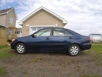 2003 Toyota Camry LE - vehicle inspection renewed June 19th!!