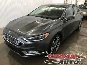 Ford Fusion Titanium AWD GPS Cuir Toit Ouvrant MAGS 2017