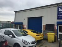 Industrial Warehouse TO LET, Road frontage trade counter unit.