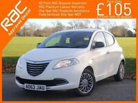 2012 Chrysler Ypsilon 1.2 SE 5 Door 5 Speed Air Conditioning Parking Sensors All