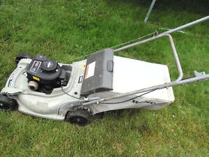 Good Working Lawnmower With Bagger