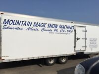 2005 Continental  Cargo  Sled Trailer