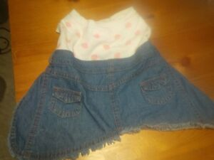 girl dog cutesie outfits new never worn Cambridge Kitchener Area image 4