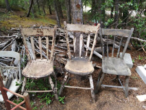 Antique Chairs - need major TLC - make me an offer