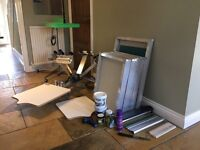 Complete Screen Printing Business Equipment