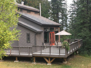 Vacation Home in the Woods for Rent on Fernie Ski Hill