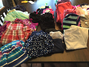 Girls size small clothing lot