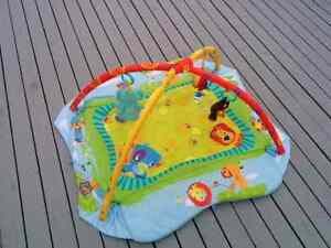 Bright Starts Baby's Play Place Activity Gym / Mat