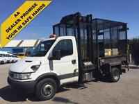 Iveco Daily 60C17 S/Cab Tipper Refuge Caged body+Tailift,Wheelie Bin Lift,2006