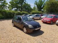 2002 Renault Clio 1.4 16v Privilege 6 Months MOT Service History