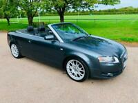 AUDI A4 2.0 TDI S LINE CONVERTIBLE 2006 56 PLATE, ONLY 2 FORMER KEEPERS & FSH
