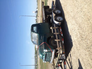 1950s project truck