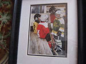 Shirley Deaville framed and matted hockey prints Windsor Region Ontario image 3
