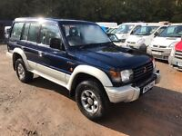 1995 Mitsubishi Shogun GLS LWB Auto with leather 7 seats PX welcome