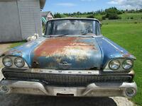 Selling 1959 Ford Meteor  4 Door
